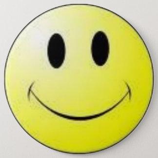Badge Rond 15,2 Cm insigne souriant de visage