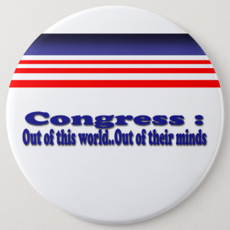 Badge Rond 15,2 Cm Le congrès