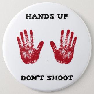 Badge Rond 15,2 Cm Les mains ne tirent pas, la solidarité pour