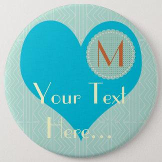 Badge Rond 15,2 Cm Pastel d'événement d'enfants de baby shower de