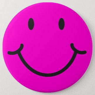 Badge Rond 15,2 Cm visage souriant