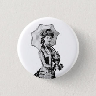 Badge Rond 2,50 Cm 1879 insignes victoriens de Madame