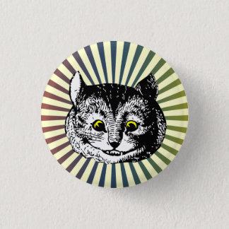 Badge Rond 2,50 Cm Alice vintage dans l'insigne d'art de chat de