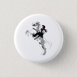 Badge Rond 2,50 Cm Arrangeur solitaire, pour des archivistes seul