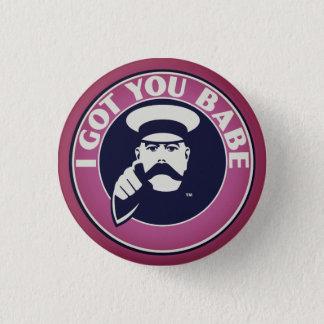 Badge Rond 2,50 Cm Assortiment son et sien insigne de bouton