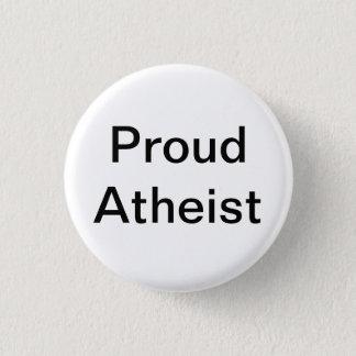 Badge Rond 2,50 Cm Athée fier
