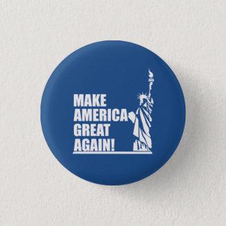 Badge Rond 2,50 Cm Atout - statue de la liberté