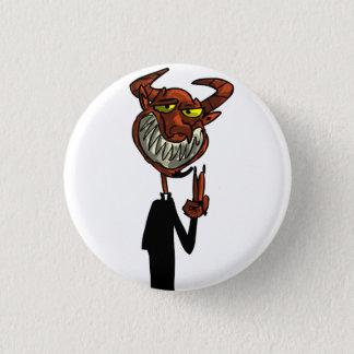 Badge Rond 2,50 Cm Beelzebub de révérend