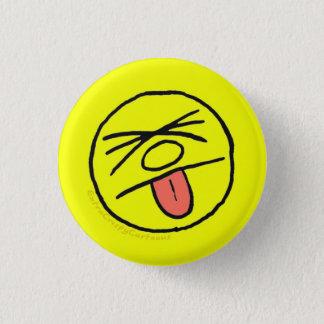 """Badge Rond 2,50 Cm """"Blech croustillant supplémentaire !"""" Pin de logo"""