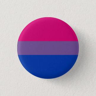 Badge Rond 2,50 Cm Bouton bisexuel de drapeau de fierté