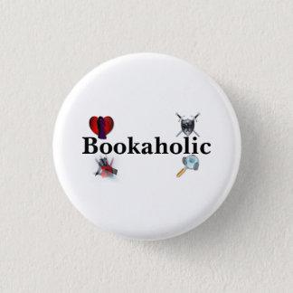 Badge Rond 2,50 Cm Bouton de Bookaholic