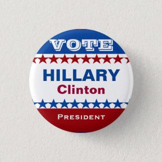 Badge Rond 2,50 Cm Bouton de campagne de Hillary Clinton