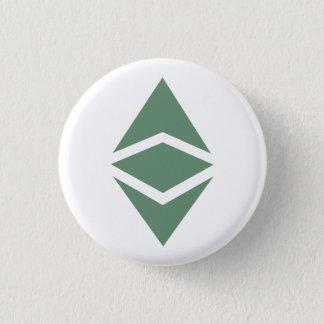 Badge Rond 2,50 Cm Bouton de classique d'Ethereum