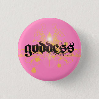 Badge Rond 2,50 Cm Bouton de déesse