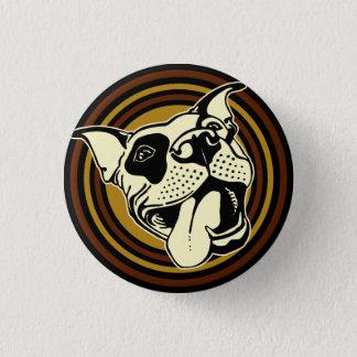 Badge Rond 2,50 Cm bouton de louie