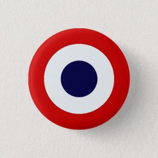 Badge Rond 2,50 Cm Bouton de Mods de Français