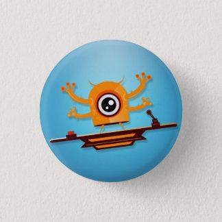 Badge Rond 2,50 Cm Bouton de monstre de Cutie