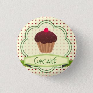 Badge Rond 2,50 Cm Bouton de petit gâteau