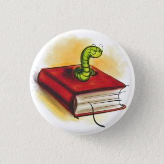 Badge Rond 2,50 Cm Bouton de rat de bibliothèque