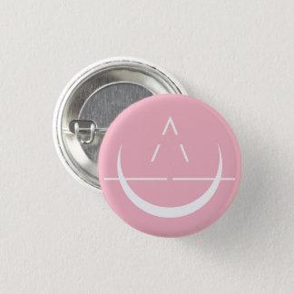Badge Rond 2,50 Cm Bouton de rose de symbole de lune d'ELOSIN