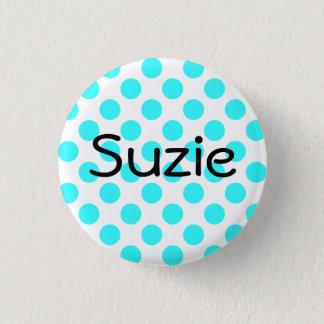 Badge Rond 2,50 Cm Bouton de Suzie