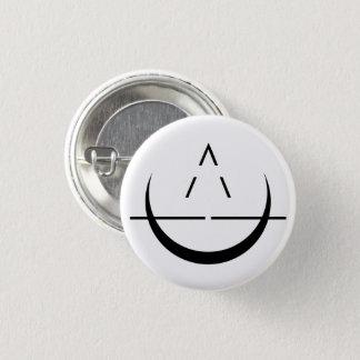 Badge Rond 2,50 Cm Bouton de symbole de lune d'ELOSIN