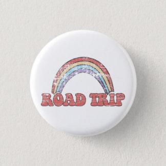 Badge Rond 2,50 Cm Bouton de voyage par la route d'arc-en-ciel