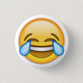 Badge Rond 2,50 Cm Bouton d'Emoji