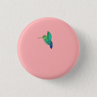 Badge Rond 2,50 Cm Bouton d'oiseau de ronflement