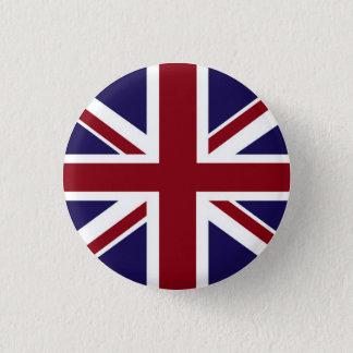 Badge Rond 2,50 Cm Bouton d'Union Jack