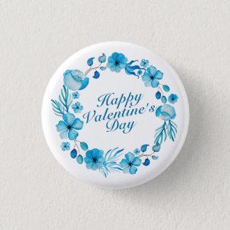 Badge Rond 2,50 Cm Bouton floral de Pin de guirlande de