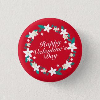 Badge Rond 2,50 Cm Bouton floral de Pin de la guirlande | de