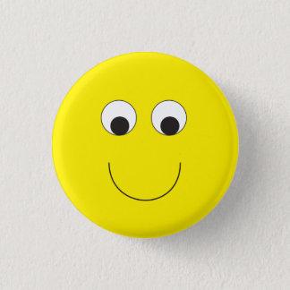 Badge Rond 2,50 Cm Bouton heureux de visage