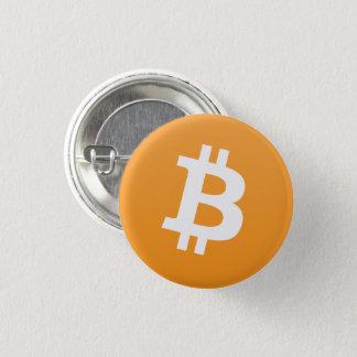 Badge Rond 2,50 Cm Bouton rond de Bitcoin