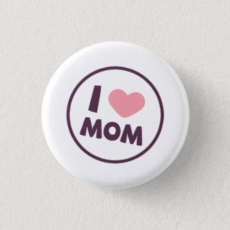 Badge Rond 2,50 Cm Bouton simple de Pin du jour de mère de maman