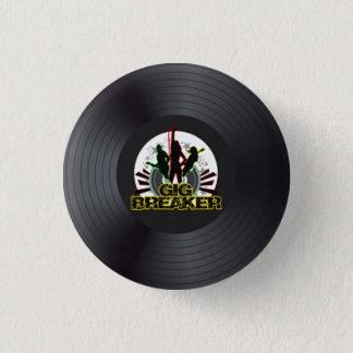 "Badge Rond 2,50 Cm Briseur de yole - Pin ""de logo record"""