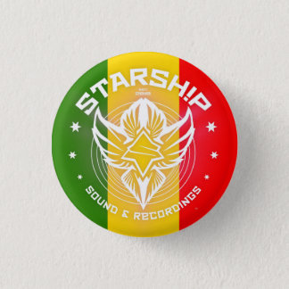 Badge Rond 2,50 Cm Bruit de STARSHIP et bouton d'enregistrements