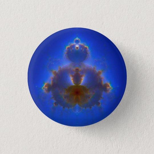 Badge Rond 2,50 Cm Buddhabrot Sky