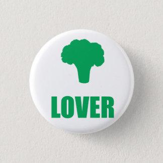 "Badge Rond 2,50 Cm Button «Broccoli Lover """