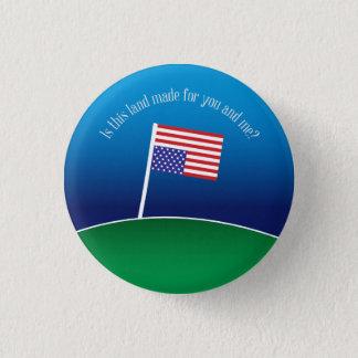 Badge Rond 2,50 Cm Cette terre est-elle faite pour vous et moi ?