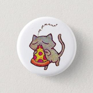 Badge Rond 2,50 Cm Chat de pizza !
