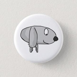 Badge Rond 2,50 Cm chien de trame