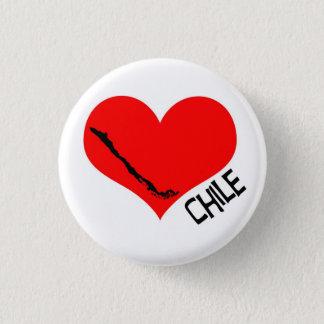 Badge Rond 2,50 Cm Chileheartbutton