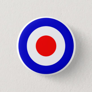 Badge Rond 2,50 Cm Cible de Mods d'art de bruit