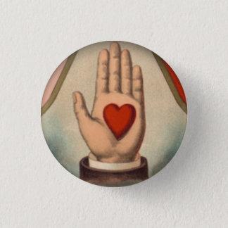 Badge Rond 2,50 Cm Coeur à disposition