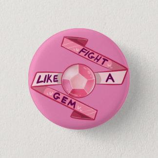 Badge Rond 2,50 Cm Combat comme une gemme