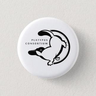 Badge Rond 2,50 Cm Consortium d'ornithorynque peu de bouton