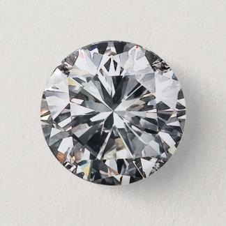 Badge Rond 2,50 Cm Coupez le diamant