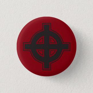 Badge Rond 2,50 Cm Croix païenne