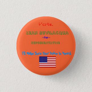 Badge Rond 2,50 Cm dbi_flag_usa [1], représentant, Leah Bevilacqu…